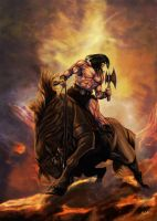 Conan the Barbarian by ArtofOkan