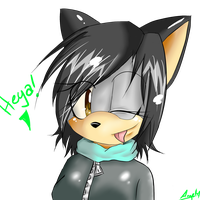 GIFT: Kishtar the Wolf ID by JurieWolfie