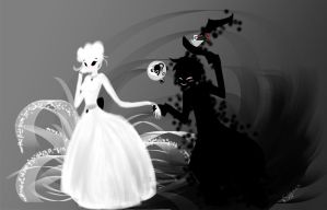 White Queen and the Mad Hatter by JinnyMoose