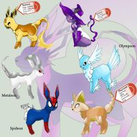 Some Missing Eeveelutions by DevilDman