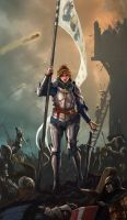 Joan of Arc by NeilBlade