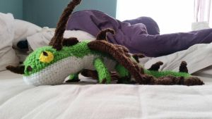 Crochet Terrible Terror  by Forest-Quick-Paw