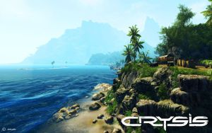 Crysis Widescreen Wallpaper 2 by eishoelle