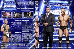 WWE SmackDown September 2013 DVD Cover by Chirantha