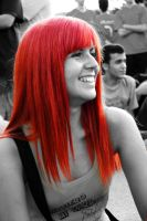 The Red Smile by Nuditon