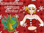 Merry Xmas and Happy New Year from DM! 2012 by Dragoon88-DragonDao