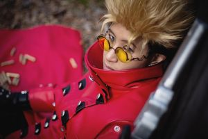 Trigun: Vash the Stampede by twinklee