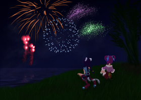 Fireworks by the-storm-winds