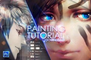 +Painting anime hair...download+ by tincek-marincek
