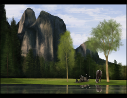 A day by the lake by Rosenhill