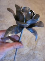 Steel Rose (unfinished) by Spinian