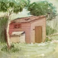 Man in a shed by Dian3