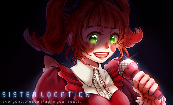 FNAF Sister Location : Baby by reua-yim