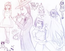 Vic in Weirdland: sketches by Jessica-Rae-3