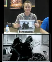 David Anders and Painting by jeminabox