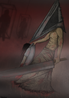 Pyramid Head by KishinSoul