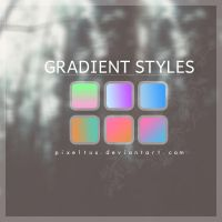 +Gradient Ps styles by PixelTux