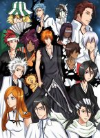 BLEACH poster by Arlequinne