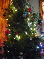 My Sister's Christmas Tree I by dull-stock