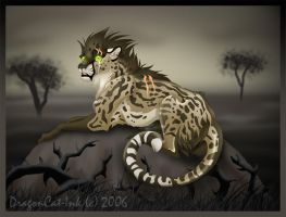 Alone with Fear by DragonCat-Ink