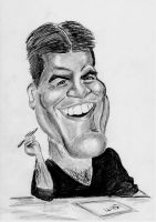 Simon Cowell Caricature by HarryMichael