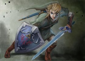 Link by RoseOf-Thorns