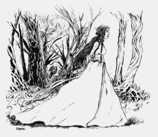 Beren and Luthien by bozac