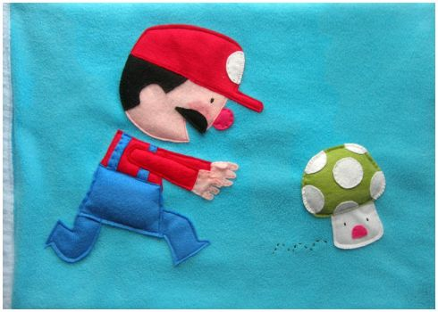 Mario Wacom Cover by elbooga