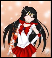 GIFT Sailor Mars by Frog-of-Rock