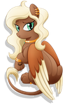 Commission: Vite the Sphinx Pony by ShilaDaLioness