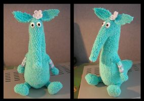 the turqouise aardvark by Corycat
