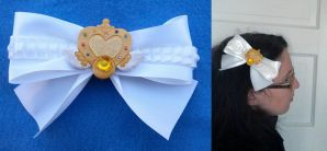 Eternal Sailor Moon Hair Bow by sakkysa