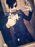 Jack Skellington costume by MisterGeorgeBats