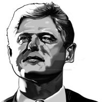 Bill Clinton by thelearningcurv