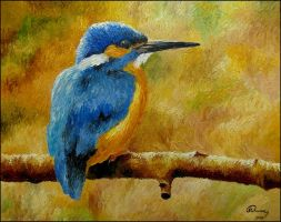 Kingfisher by Nahidh