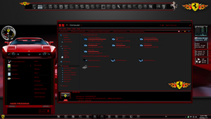 Windows 7 Themes: Ferrari by TheBull1