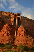 Chapel of the Holy Cross, Sedona AZ by Kiloueka