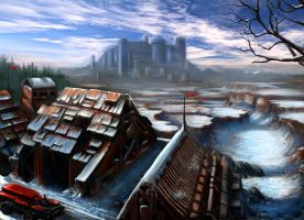 rusty station by MBato