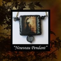 Polymer Clay Nouveau by KabiDesigns