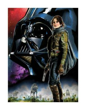 Rogue One Giclee For Sale! by RichardCox