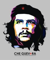 CHE GUEVARA ON WPAP by p32n