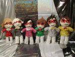 Super Junior T Chibi Dolls by SubterraneanTV