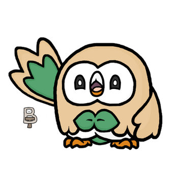 Rowlet by BattleTeo