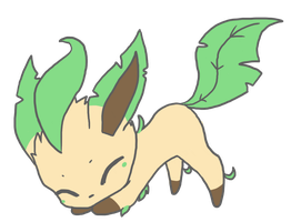 leafeon by cheriboo