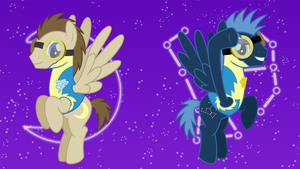 Space Ponies by ChainChomp2