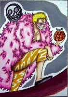 Donquixote Doflamingo by angelwithoutsoul89