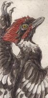 Anchiornis bookmark by teriathanin