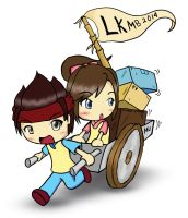 Mita  tama MU Mascot LKMB 2014 version by Greywind89