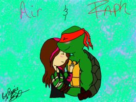 Art Trade : Air and Raph by LoveableHothead