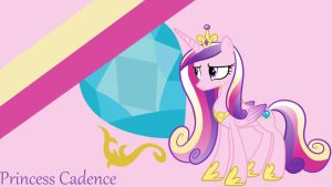 Princess Cadence Wallpaper by ChillyBilly4